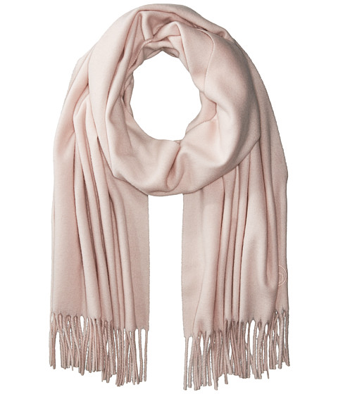 rag & bone Classic Wool Scarf - Peach