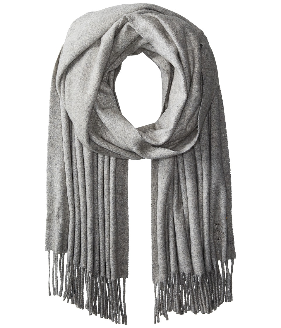rag & bone - Classic Cashmere Scarf (Light Heather Grey) Scarves