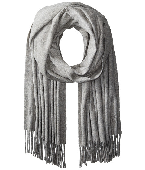 rag & bone Classic Cashmere Scarf - Light Heather Grey
