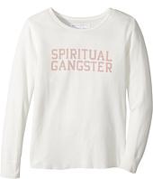 Spiritual Gangster Kids - SG Varsity Thermal Top (Big Kids)