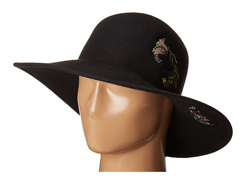 rag & bone Embroidered Hat - Black