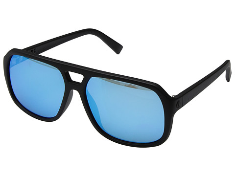Electric Eyewear Dude - Matte Black/Ohm Grey Blue Chrome