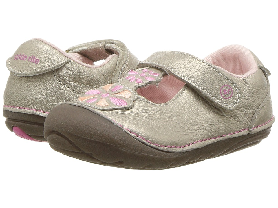 Stride Rite Kelly (Infant/Toddler) (Champagne) Girls Shoes