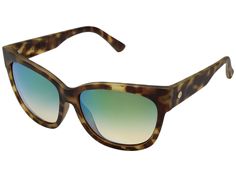 Electric Eyewear Danger Cat Polarized - Pineapple Tortoise/Ohm Green Chrome