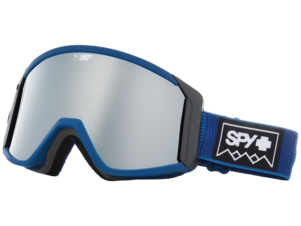 Spy Optic Raider (Deep Winter Navy/Happy Bronze/Silver Spectra/Yellow) Snow Goggles