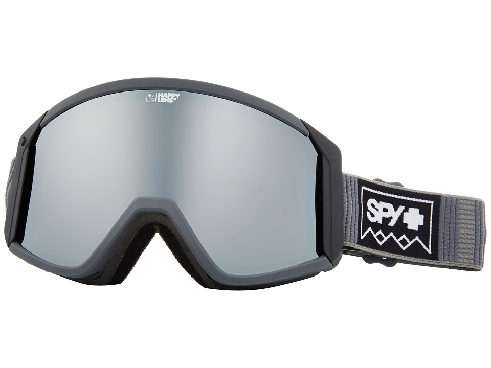 Spy Optic Raider (Deep Winter Gray/Happy Bronze/Silver Spectra/Persimmon) Snow Goggles