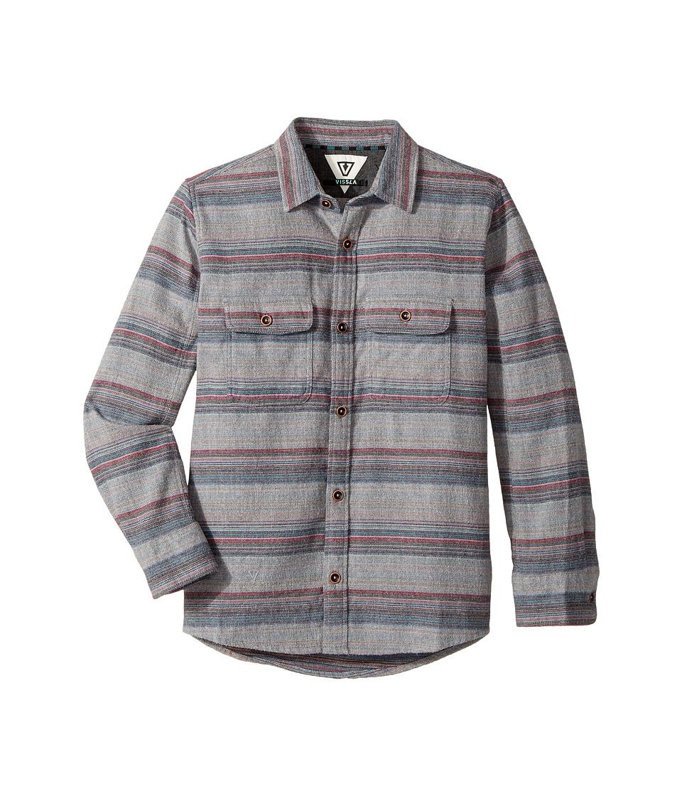 VISSLA Kids - Fort Point Long Sleeve Flannel
