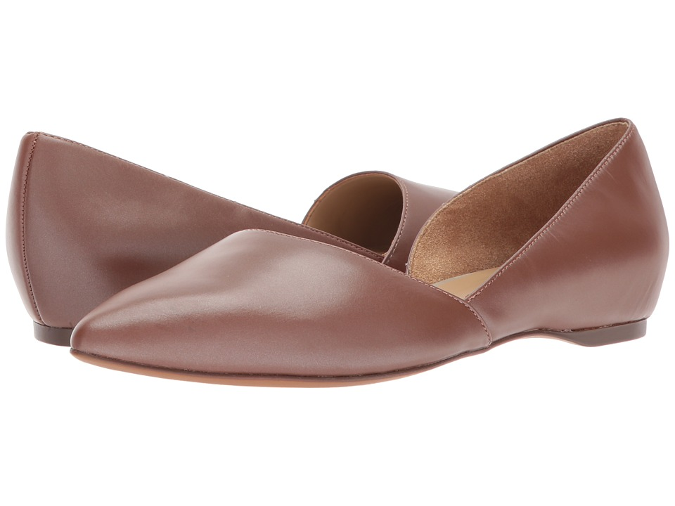 Naturalizer Samantha (Caramel Pearl Leather) Flats