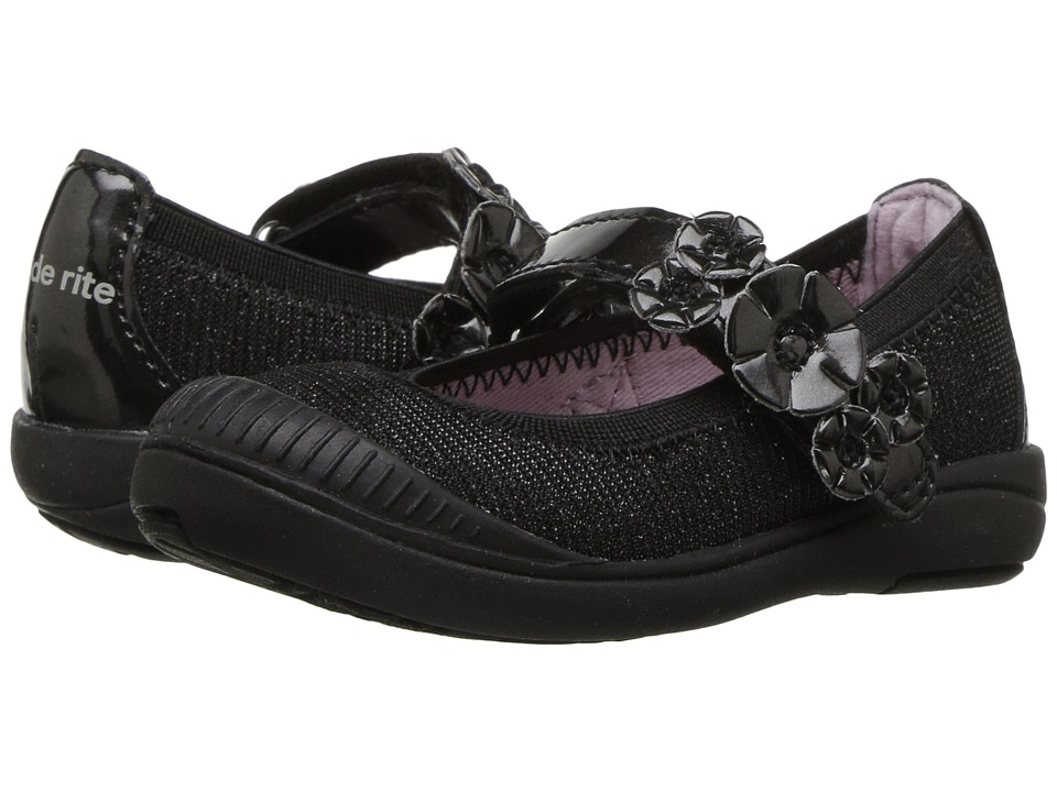 Stride Rite Layla (Toddler/Little Kid) (Black) Girls Shoes