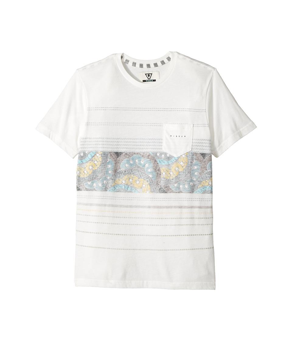 VISSLA Kids - Sandstorm Heathered Short Sleeve Pocket Knit