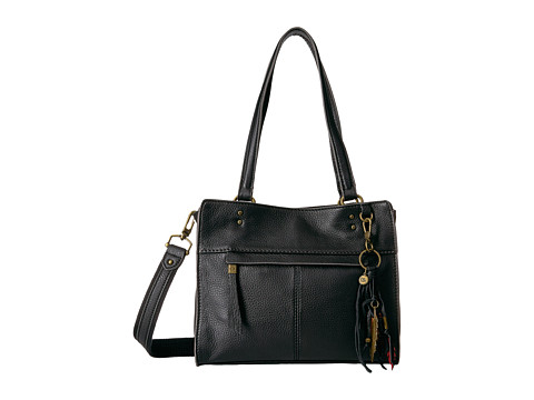 The Sak Alameda Leather Satchel - Black