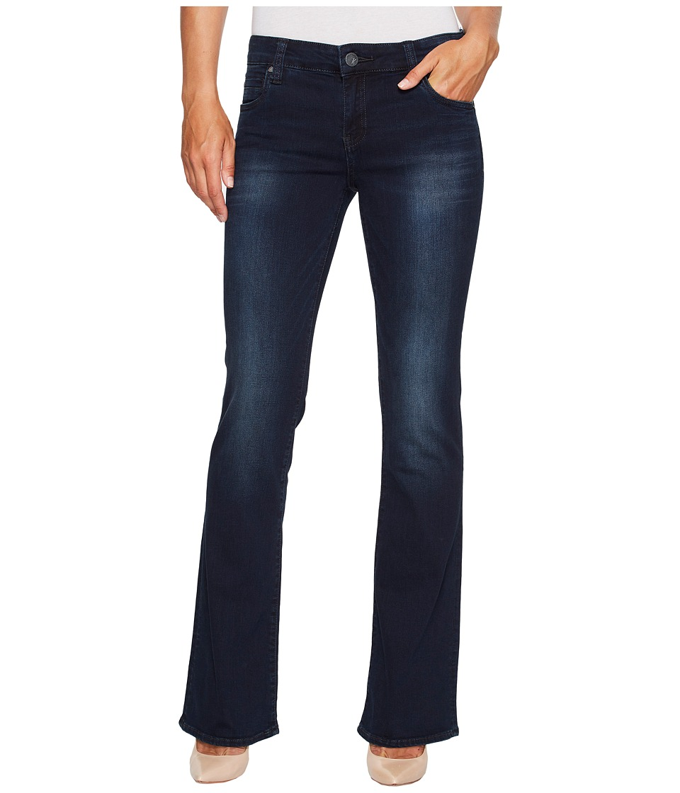 KUT from the Kloth Natalie High-Rise Bootcut in Liberating w/ Euro Base Wash (Liberating/Euro Base Wash) Women