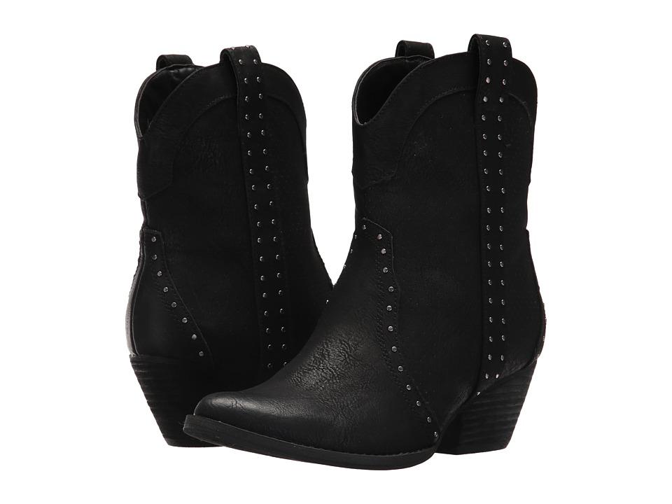 VOLATILE Montez (Black) Cowboy Boots
