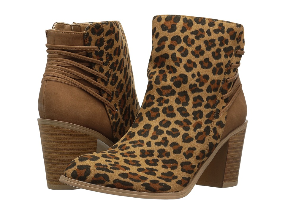 VOLATILE Lacey (Tan Leopard) Women