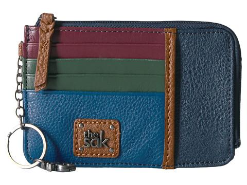 The Sak Iris Card Wallet - Marine Block