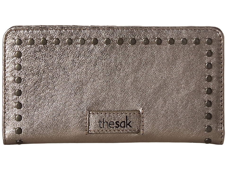 The Sak Iris Slim Wallet (Pyrite Mettalic) Wallet Handbags