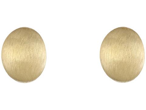 Roberto Coin Satin Button Earrings - 18K Yellow Gold