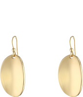 Roberto Coin - High Polished Oval Drop Earrings