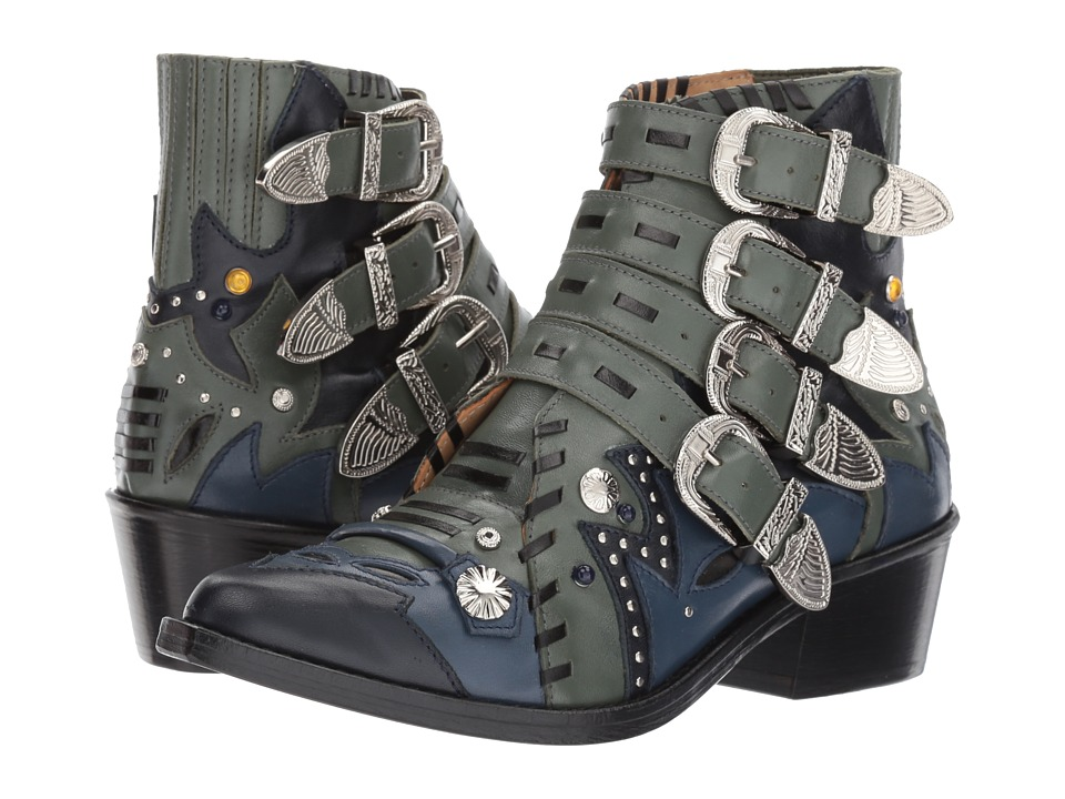 Toga Pulla AJ875 (Khaki Leather Mix) Women