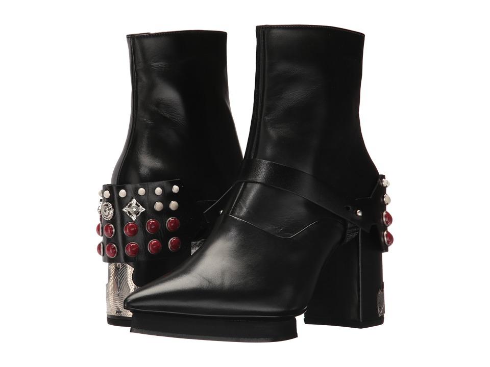 Toga Pulla AJ878 (Black Leather) Women