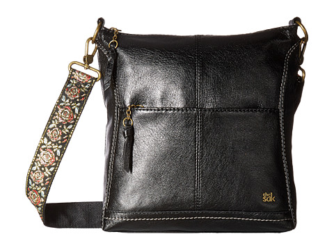 The Sak Lucia Crossbody - Black Floral Strap