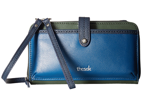 The Sak Iris Large Smartphone Crossbody - Marine Block