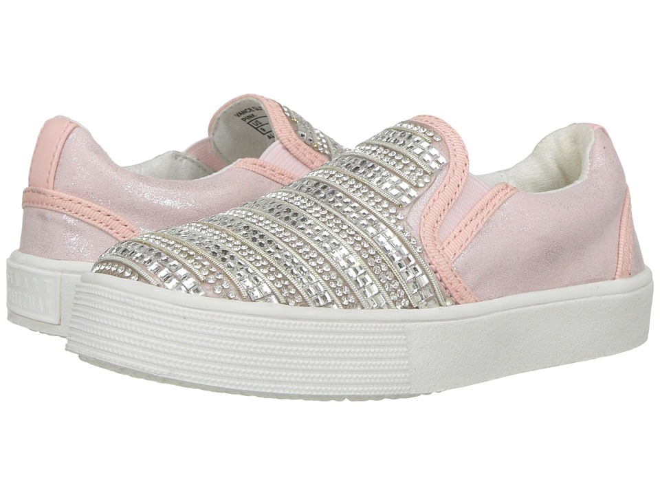 Stuart Weitzman Kids Vance Glitz (Toddler) (Pink) Girl's Shoes