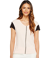 Ivanka Trump - Color Contrast Sleeve Tee