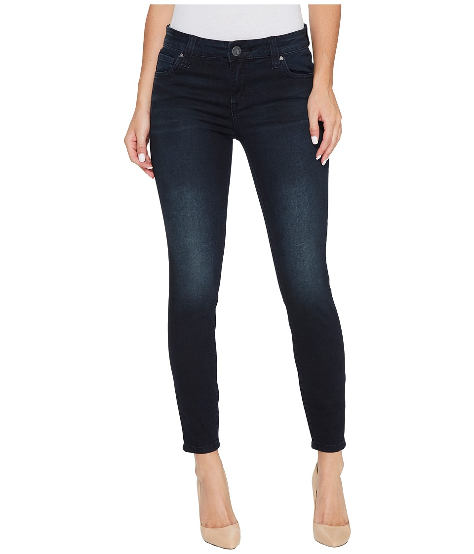 KUT from the Kloth Connie Ankle Skinny-Regular Hem in Recognizable w/ Euro Base Wash (Recognizable/Euro Base Wash) Women