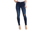 KUT from the Kloth Mia Toothpick Skinny in Overt w/ Dark Stone Base Wash