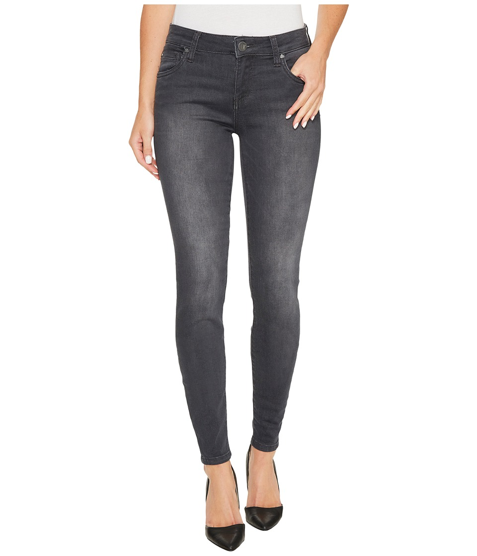 KUT from the Kloth Mia Toothpick Skinny in Model w/ Dark Stone Base Wash (Model/Dark Stone Base Wash) Women