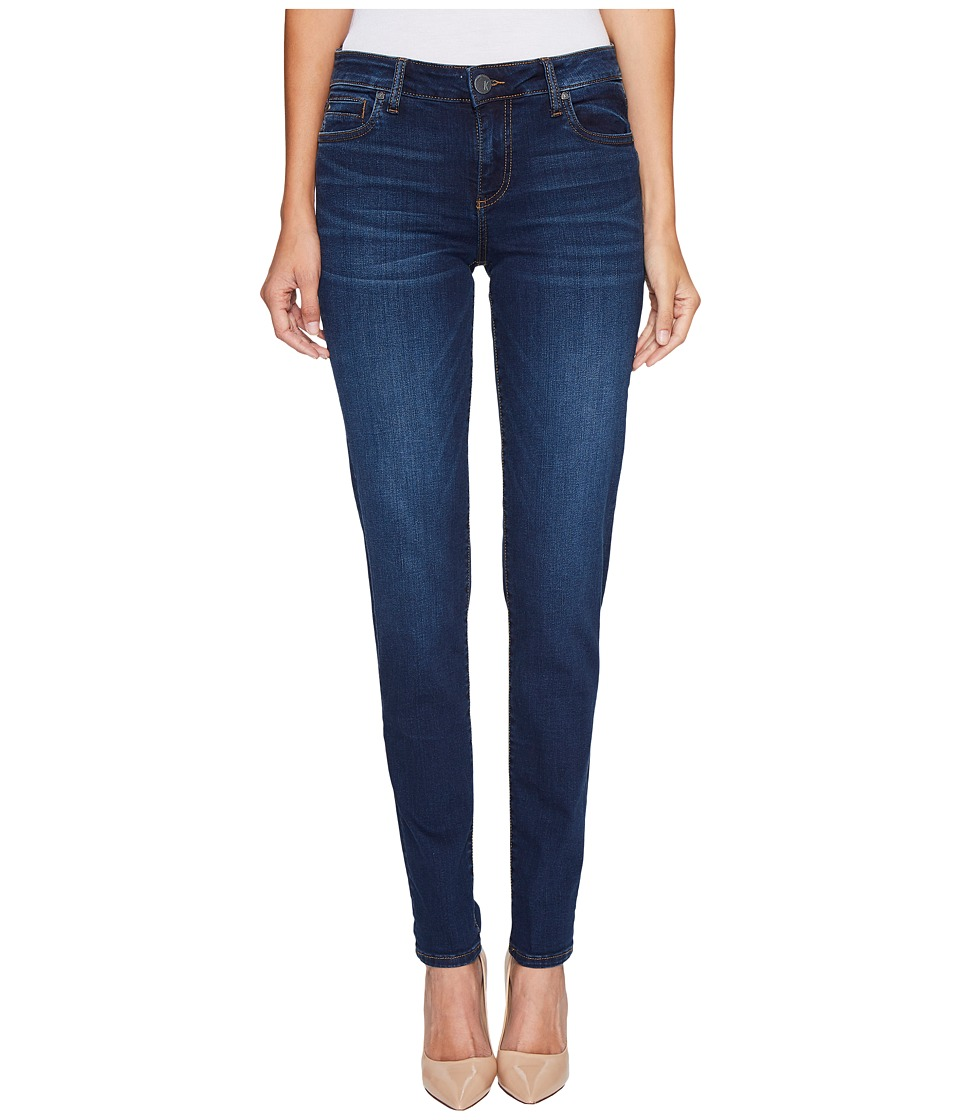 KUT from the Kloth Diana Skinny in Model w/ Dark Stone Base Wash (Model/Dark Stone Base Wash) Women