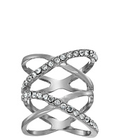 GUESS - Double Crisscross Pave Ring