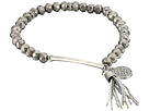 GUESS - Stretch Bead Bracelet with Tassel Drop