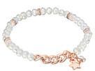 Stretch Bead Bracelet with Star Drop