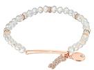 Stretch Bead Bracelet with Love Drop
