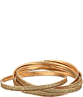 GUESS - Five-Piece Rolling Glitter Bangle Set