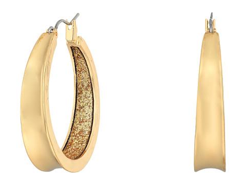 GUESS Medium Band Hoop Earrings - Gold