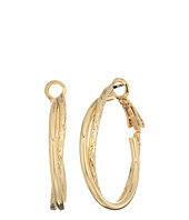 GUESS - Small Double Twist Hoop Earrings
