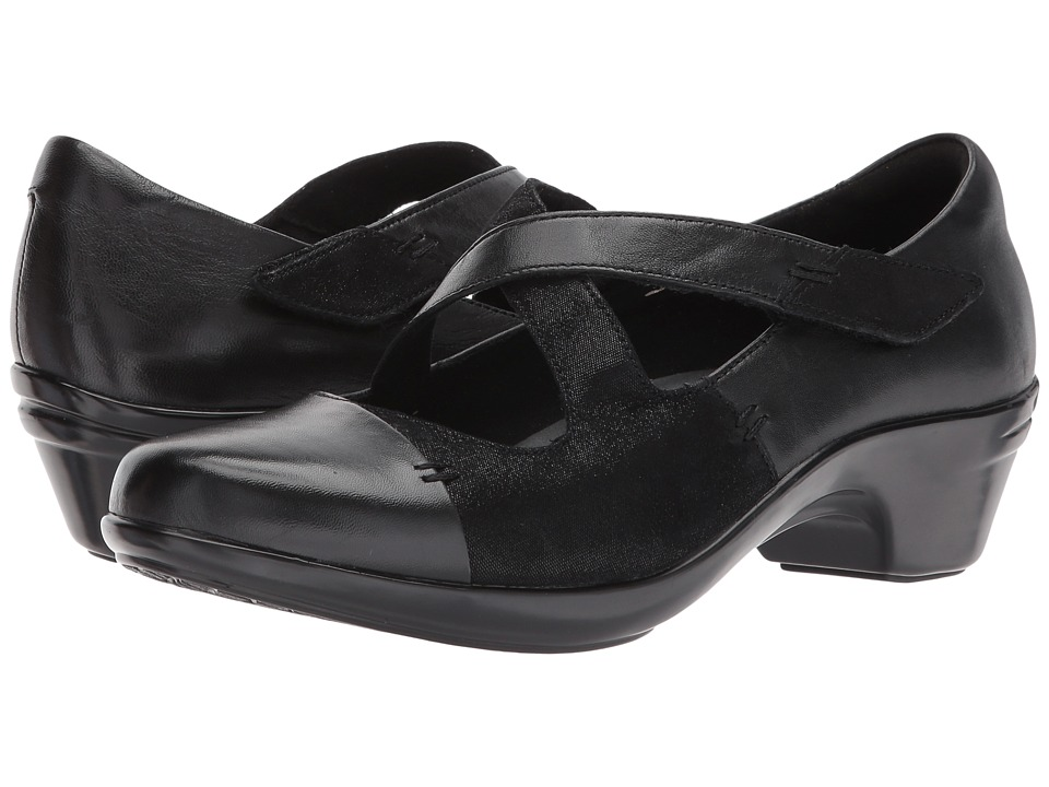 Aravon Kitt Cross Strap (Black Multi) Women