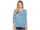 Tribal - 3/4 Sleeve V-Neck T-Shirt