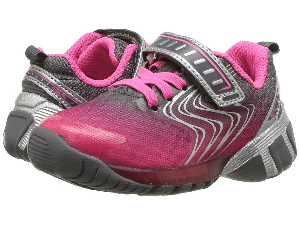 Stride Rite SR-Lights Lux (Toddler/Little Kid) (Pink) Girls Shoes