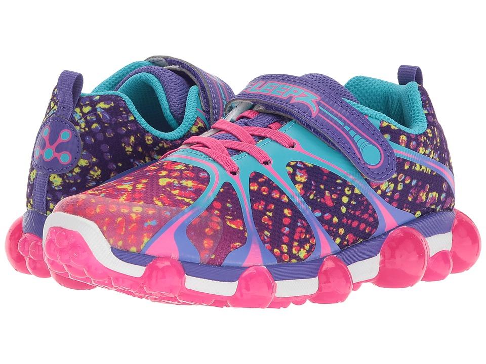 Stride Rite Leepz 2.0 (Toddler/Little Kid) (Purple Multi) Girls Shoes