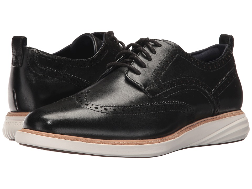 Cole Haan Grand Evolution Shortwing (Black/Ivory) Men