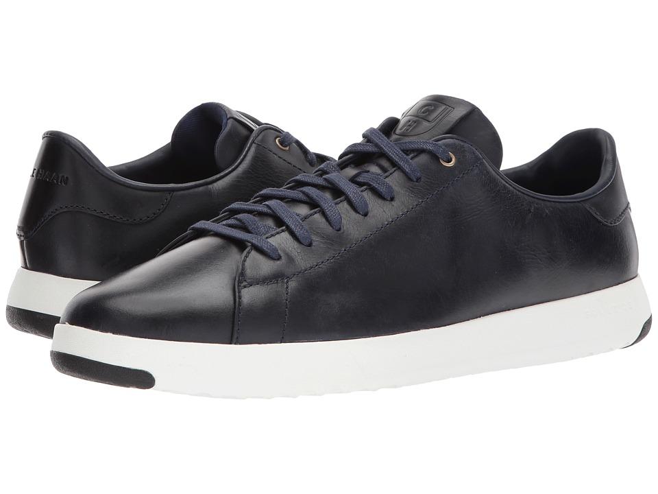 Cole Haan Grandpro Tennis (Marine Blue Leather/Suede) Men