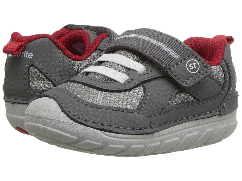 Stride Rite SM Jamie (Toddler/Little Kid) (Grey) Boys Shoes