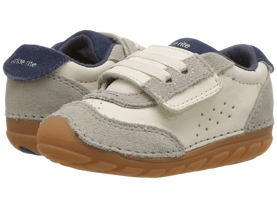 Stride Rite SM Wyatt (Toddler/Little Kid) (Stone) Boys Shoes