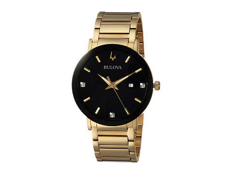 Bulova Diamond - 97D116 - Gold/Black