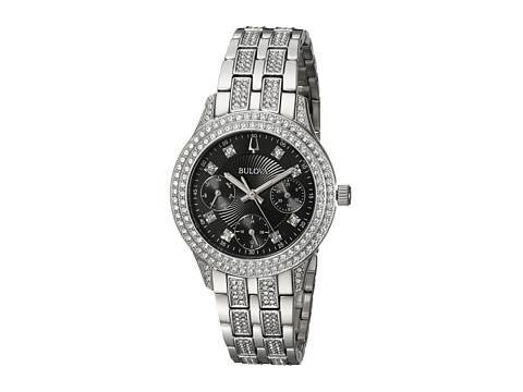 Bulova Crystal - 96N110 - Silver/Black