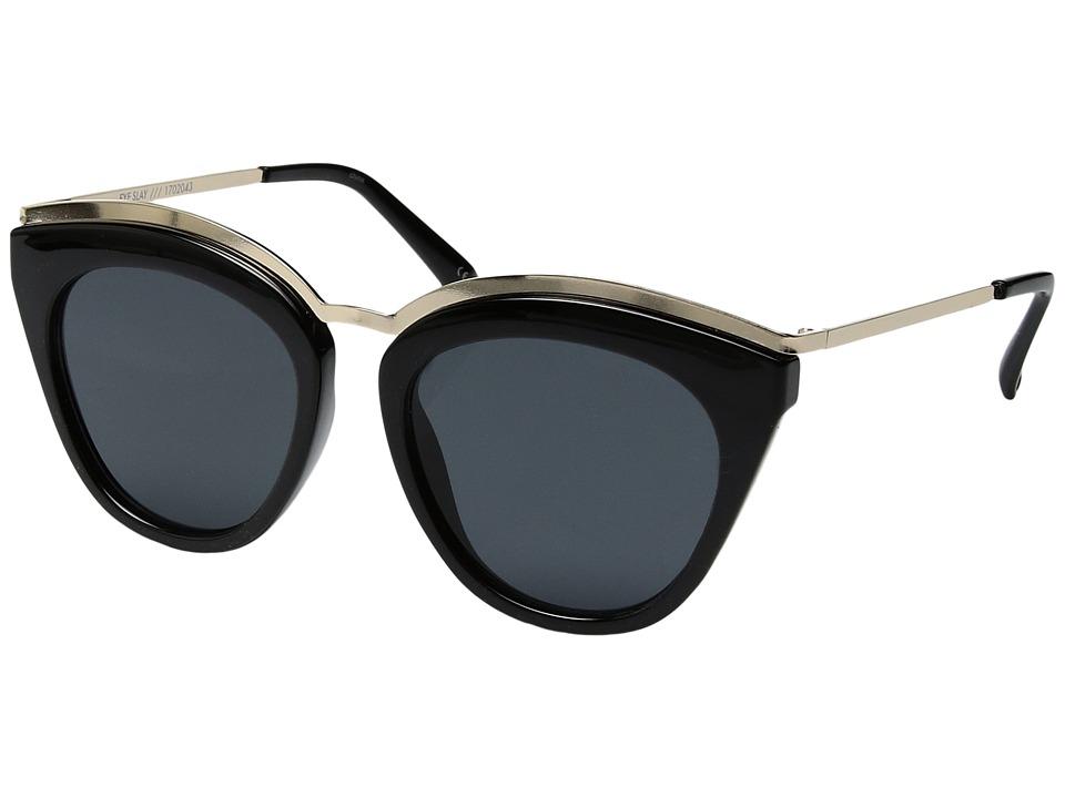 Le Specs - Eye Slay (Black) Fashion Sunglasses
